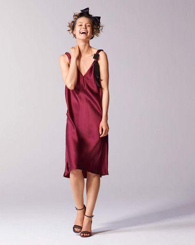 E-wykrój: Sukienka wieczorowa na ramiączkach