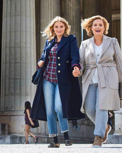 E-wykrój: Kobiecy płaszcz z guzikami