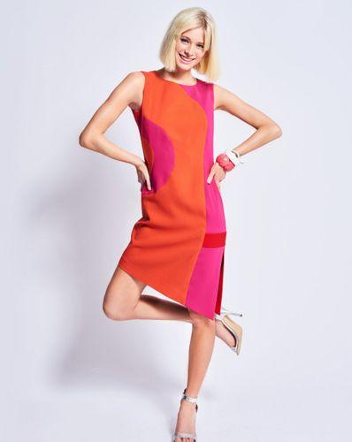 E-wykrój: Letnia sukienka na ramiączka