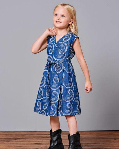 E-wykrój: Sukienka dziewczęca na ramiona