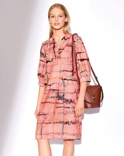 E-wykrój: Lniana sukienka