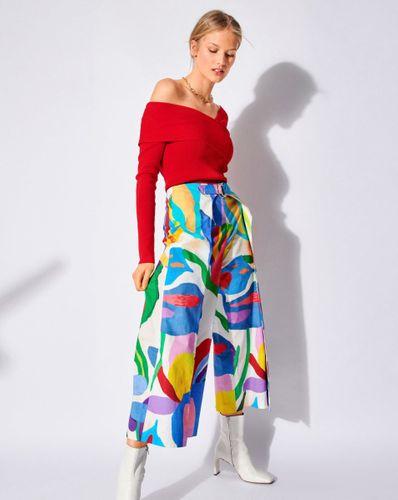 E-wykrój: Szkoła szycia. Kolorowe spodnie