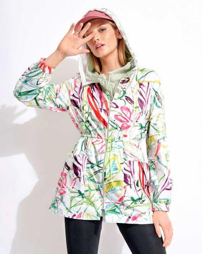 E-wykrój: Kolorowa kurtka z kapturem