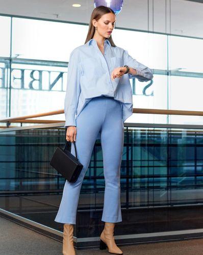 E-wykrój: Spodnie damskie z dżerseju