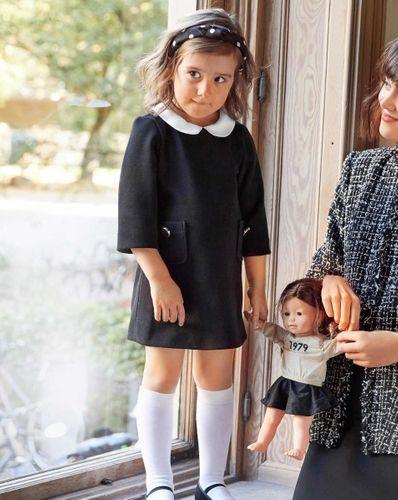 E-wykrój: Sukienka z kieszeniami dla dziewczynki