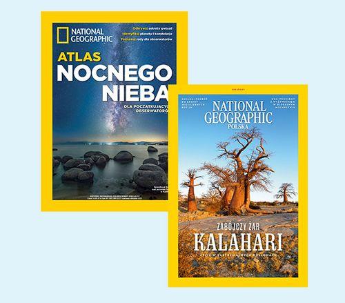 Roczna prenumerata National Geographic + 4 wydania specjalne