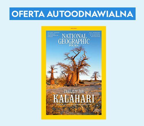 Autoodnawialna półroczna prenumerata National Geographic