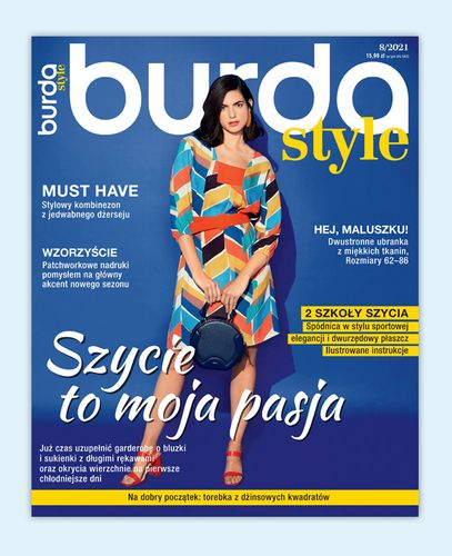 Półroczna prenumerata magazynu Burda