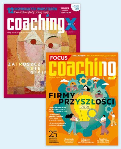 Roczna prenumerata magazynu Coaching + Coaching Extra