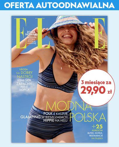 Autoodnawialna kwartalna prenumerata magazynu ELLE