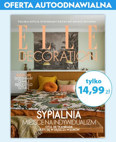 Autoodnawialna prenumerata Elle Decoration
