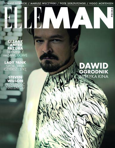 4 wydania magazynu Elle Man