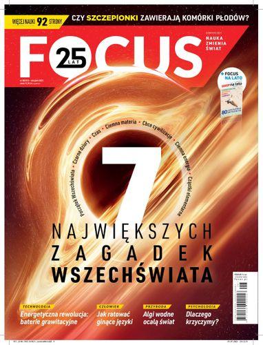 Focus 8/2021 z łamigłówkami