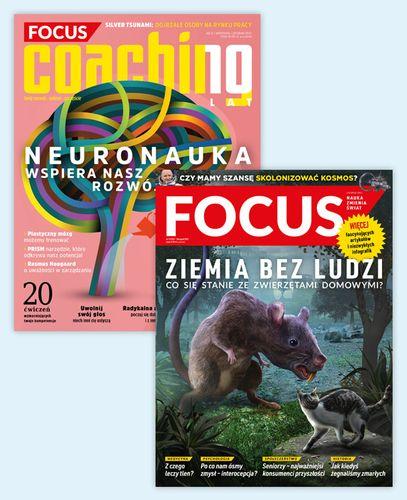 Roczna prenumerata magazynu Focus +  Coaching
