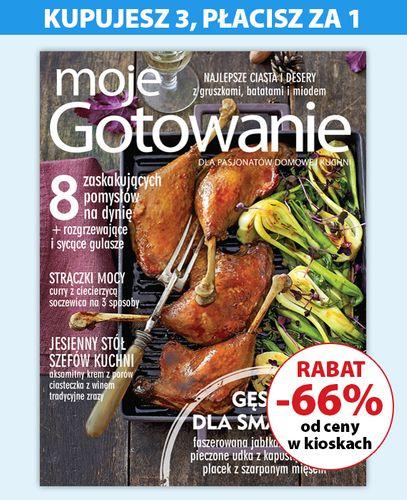 Kwartalna prenumerata magazynu Moje Gotowanie - 3 za 1