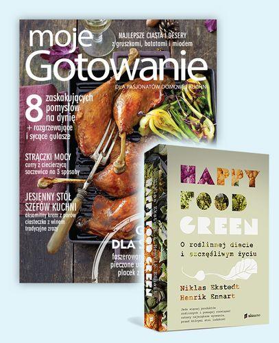 """PROMOCJA: Roczna prenumerata z prezentem: książką """"Happy Food"""""""
