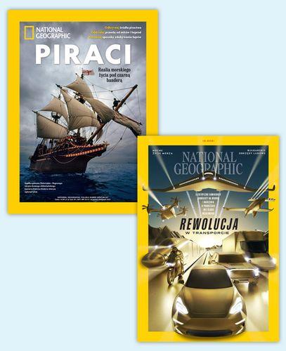 Roczna prenumerata National Geographic + 4 wydania specjalne GRATIS