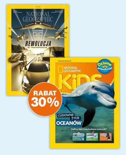 Pakiet prenumeraty: National Geographic i National Geographic Kids