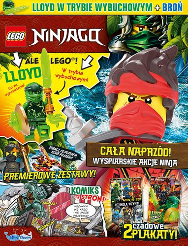 Prenumerata magazynu LEGO® NINJAGO®