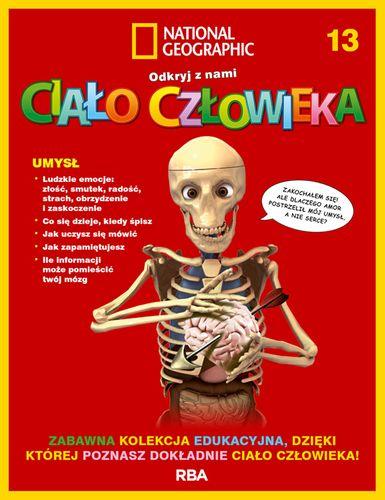 """""""Odkryj z nami ciało człowieka - National Geographic"""" tom XIII"""