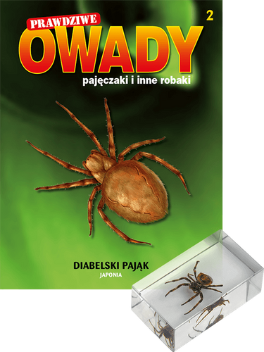"""Prenumerata """"Prawdziwe owady, pajęczaki i inne robaki"""" od tomu 2. Przesyłka cz. 2 i 3 (tom 3 GRATIS!)"""