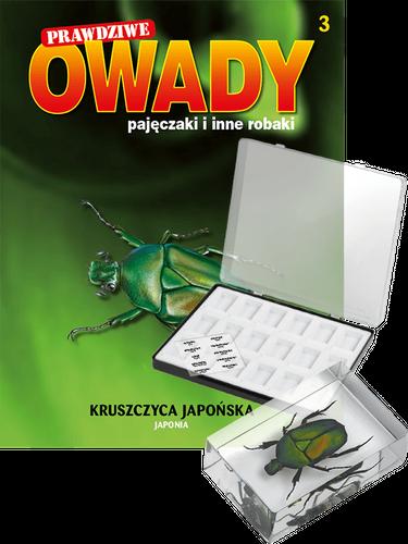 """Prenumerata """"Prawdziwe owady, pajęczaki i inne robaki"""" od tomu 3. Przesyłka cz. 3, 4 i 5 (tom 5 GRATIS!)"""