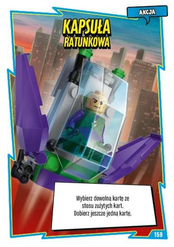 LEGO® BATMAN™ TCG - Nr 159: Kapsuła ratunkowa