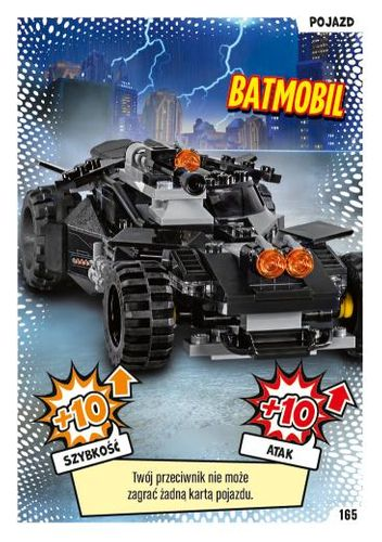LEGO® BATMAN™ TCG - Nr 165: Batmobil