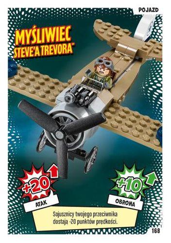 LEGO® BATMAN™ TCG - Nr 168: Myśliwiec Steve'a Trevora™