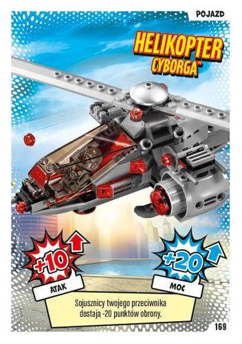 LEGO® BATMAN™ TCG - Nr 169: Helikopter Cyborga™