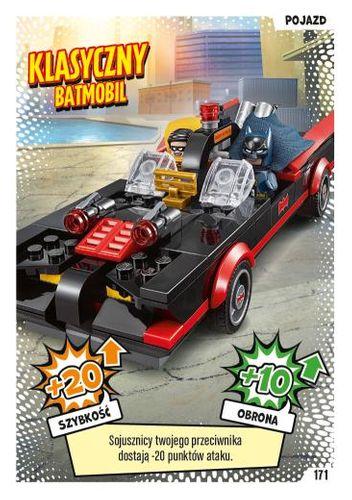 LEGO® BATMAN™ TCG - Nr 171: Klasyczny Batmobil
