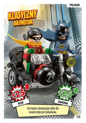 LEGO® BATMAN™ TCG - Nr 172: Klasyczny Batmotor