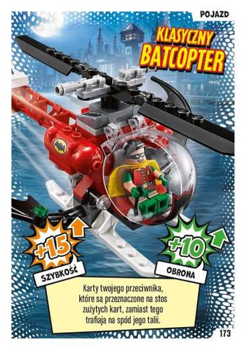 LEGO® BATMAN™ TCG - Nr 173: Klasyczny Batcopter