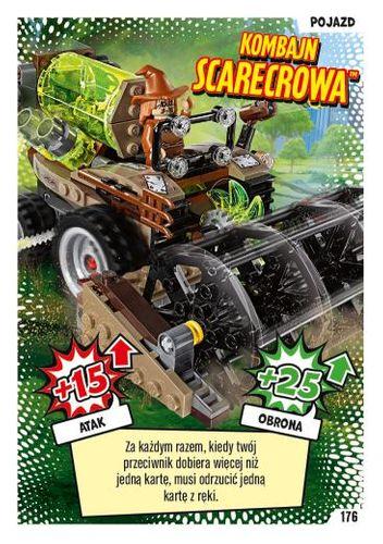 LEGO® BATMAN™ TCG - Nr 176: Kombajn Scarecrowa™