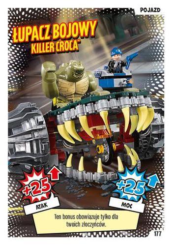 LEGO® BATMAN™ TCG - Nr 177: Łupacz bojowy Killer Croca™