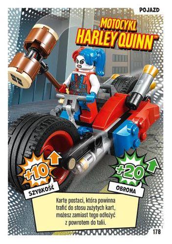 LEGO® BATMAN™ TCG - Nr 178: Motocykl Harley Quinn™