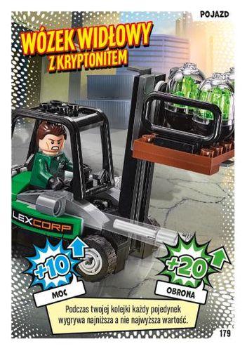 LEGO® BATMAN™ TCG - Nr 179: Wózek widłowy z kryptonitem