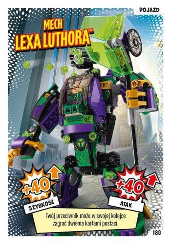 LEGO® BATMAN™ TCG - Nr 180: Mech Lexa Luthora™