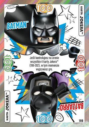 LEGO® BATMAN™ TCG - Nr 199: Batman™/Batzarro™
