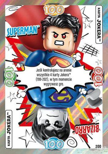 LEGO® BATMAN™ TCG - Nr 200: Superman™/Bizarro™