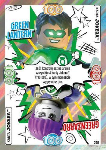 LEGO® BATMAN™ TCG - Nr 201: Green Lantern™/Greenzarro™
