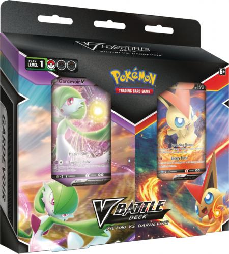 Pokemon TCG: May V Battle Deck Bundle Victini vs. Gardevoir