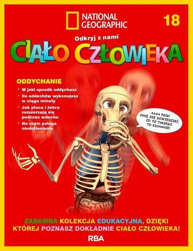 """""""Odkryj z nami ciało człowieka - National Geographic"""" tom XVIII"""