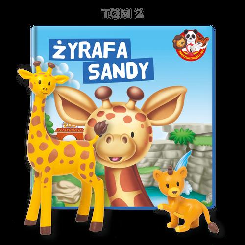 Zwierzęta z mojego ZOO -  Żyrafa Sandy