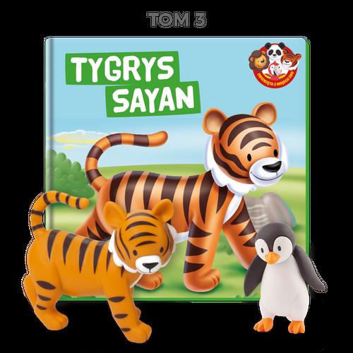 Zwierzęta z mojego ZOO - Tygrys Sayan
