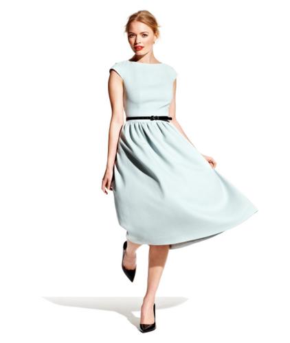 E-wykrój: Klasyczna sukienka w stylu retro